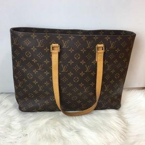 100% Authentic Louis Vuitton Monogram Luco
